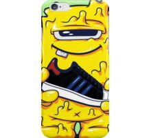 Yellow Monster shoes Art Design Monster iPhone Case/Skin