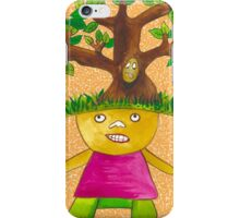 Tree child iPhone  iPhone Case/Skin