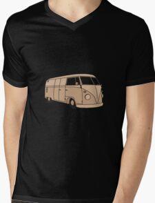 Sepia Kombi Mens V-Neck T-Shirt