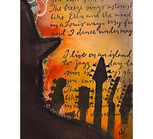 Ode to Ella and Satchmo  Photographic Print