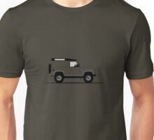A Graphical Interpretation of the Land Rover Defender 90 Hard Top XTech Unisex T-Shirt