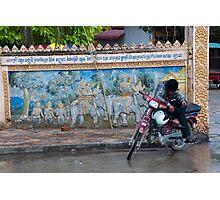 Phnom Penh street scene Photographic Print