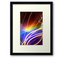 The Light Is The Art 16 Framed Print