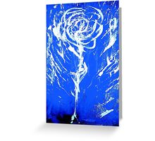 Raw Emotion in A Rose Greeting Card