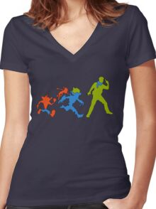 Hero Evolution Women's Fitted V-Neck T-Shirt