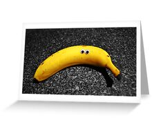 Googly-Eyed Banana Greeting Card