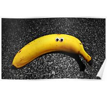 Googly-Eyed Banana Poster