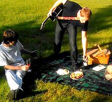 Remi Weston Breaking Up A Picnic by J. Lovewell