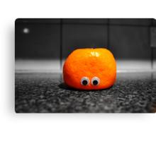 Googly-Eyed Mandarin Canvas Print