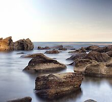 Mystic Rock Pools 1 by Pete Evans
