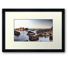 Mystic Rock Pools 1 Framed Print