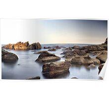 Mystic Rock Pools 1 Poster