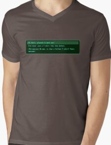 The Conversation Starter Mens V-Neck T-Shirt