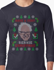 Very Bernie Ugly Christmas Sweater Digital Art T-Shirt