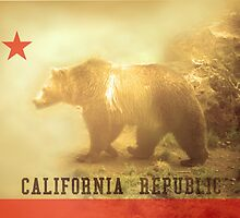 California Flag by florianberge
