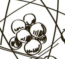 Sphere Of Geek T Shirt Sticker