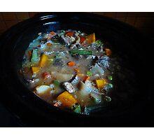 *Beef, Leek & Mushroom Casserole* Photographic Print