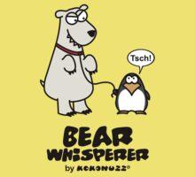 The Bear Whisperer - Penguin vs Polar Bear Kids Clothes