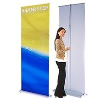 Silverstep Retractable Banner Stands by sdsign