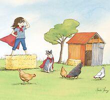 Supergirl by amalou