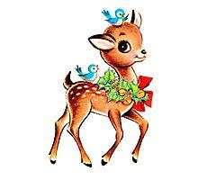 Christmas! Oh deer! Photographic Print