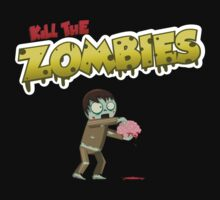 Kill The Zombies Baby Tee
