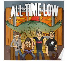 All Time Low Don't Panic Poster Poster