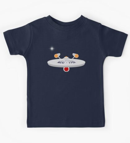 USS Enterprise Kids Tee