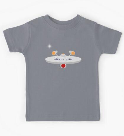 USS Enterprise Kids Tee