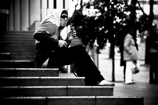 Caught Smoking by Andrew Wilson
