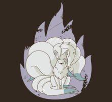 Ninetales - Fire Pokemon (Shiny Version) by cassdowns