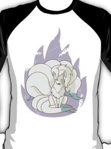 Ninetales - Fire Pokemon (Shiny Version) T-Shirt