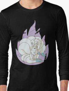 Ninetales - Fire Pokemon (Shiny Version) Long Sleeve T-Shirt