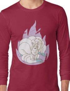 Ninetales - Fire Pokemon (Shiny Version) Long Sleeve T-Shirt