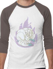 Ninetales - Fire Pokemon (Shiny Version) Men's Baseball ¾ T-Shirt