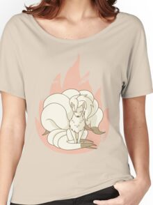 Ninetales - Fire Pokemon Women's Relaxed Fit T-Shirt