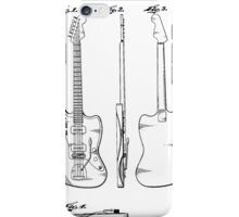 Guitar Patent iPhone Case/Skin