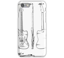 Guitar Patent iPhone Case/Skin