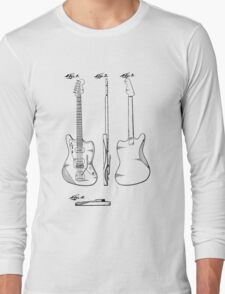 Guitar Patent Long Sleeve T-Shirt