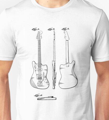 Guitar Patent Unisex T-Shirt