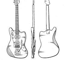 Guitar Patent by Edward Fielding