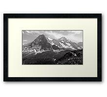 Eiger & Monch Framed Print
