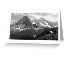 Eiger & Monch Greeting Card