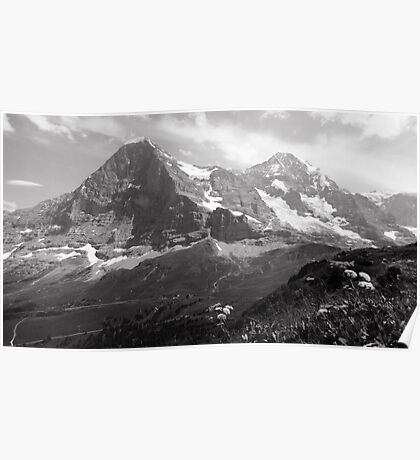 Eiger & Monch Poster