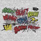 COMICS SPEAK T SHIRT by GeekShirtsHQ