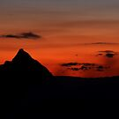 Glasshouse Mountains by Steve Bass