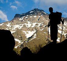 The climber II by Gregorio Magno Toral Jiménez