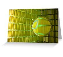 Green mirror II Greeting Card