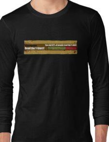 T-Shirt Choices Long Sleeve T-Shirt