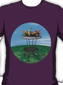 Basket of Flowers T-Shirt